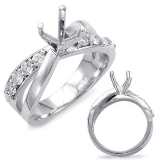 White Gold Engagement Ring (0.48 ctw)