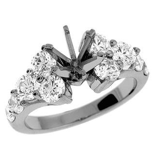 White Gold Engagement Ring (1.85 ctw)