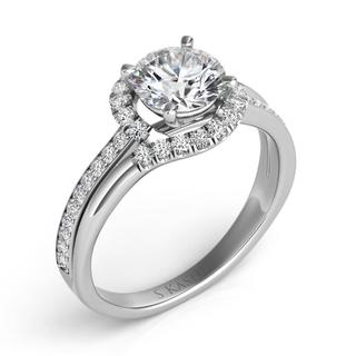 White Gold Engagement Ring (0.32 ctw)