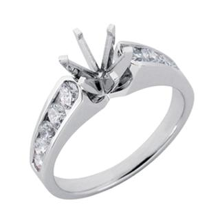 White Gold Engagement Ring (0.85 ctw)