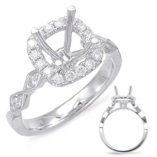 Halo Engagement Ring (0.34 ctw.)
