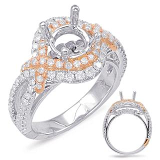 Halo Engagement Ring (0.82 ctw.)
