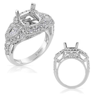 White Gold Engagement Ring (1.21 ctw)