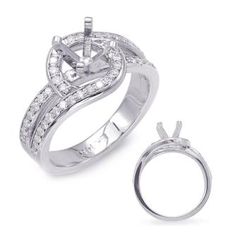White Gold Engagement Ring (0.45 ctw)