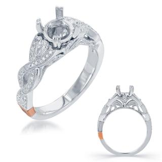 White Gold Engagement Ring (0.38 ctw)