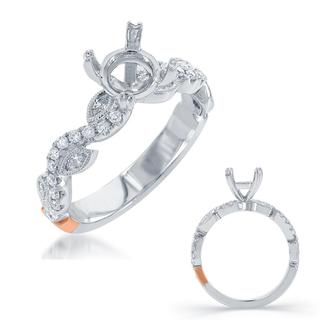 White Gold Engagement Ring (0.40 ctw)