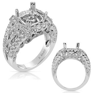 White Gold Engagement Ring (1.24 ctw)