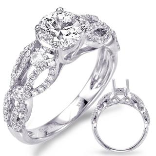 White Gold Engagement Ring (0.53 ctw)