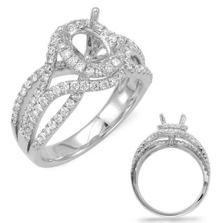 White Gold Engagement Ring (1.00 ctw)