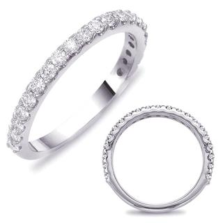 White Gold Women's Matching Band