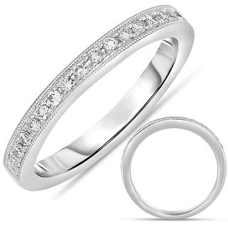 White Gold Women's Wedding Band