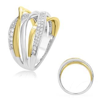 Yellow & White Diamond Fashion Ring