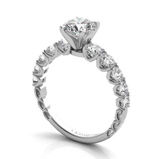 Platinum Engagement Ring (0.72 cts.)