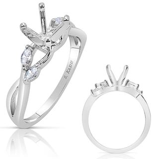 White Gold Engagement Ring (0.20 ctw)