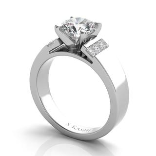 White Gold Engagement Ring (0.30 ctw)