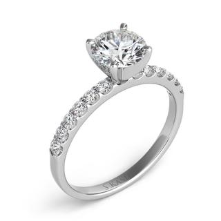 White Gold Engagement Ring (0.32 cts.)