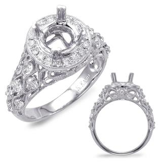 White Gold Engagement Ring (0.64 ctw)