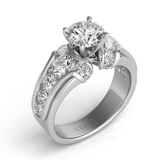 White Gold Engagement Ring (1.31 cts.)